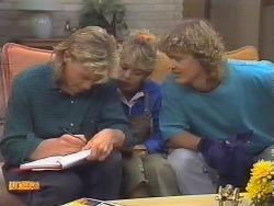 Scott Robinson, Charlene Robinson, Henry Ramsay in Neighbours Episode 0647