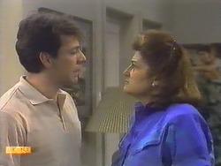 Tony Romeo, Mrs Romeo in Neighbours Episode 0648