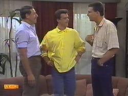 Malcolm Clarke, Paul Robinson, Des Clarke in Neighbours Episode 0648