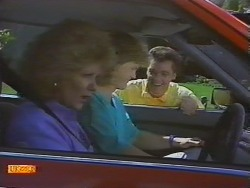 Madge Ramsay, Henry Ramsay, Paul Robinson in Neighbours Episode 0648
