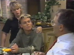 Charlene Robinson, Scott Robinson, Harold Bishop in Neighbours Episode 0650