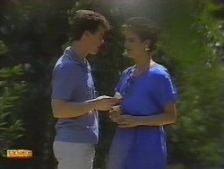 Paul Robinson, Gail Robinson in Neighbours Episode 0650