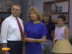 Harold Bishop, Madge Ramsay, Henry Ramsay, Lucy Robinson in Neighbours Episode 0650