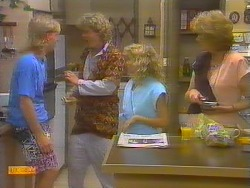 Scott Robinson, Henry Ramsay, Charlene Mitchell, Madge Bishop in Neighbours Episode 0652