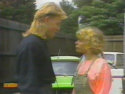 Scott Robinson, Charlene Mitchell in Neighbours Episode 0652