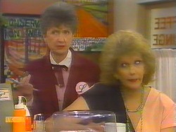 Nell Mangel, Madge Bishop in Neighbours Episode 0652