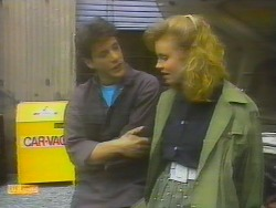 Tony Romeo, Sally Wells in Neighbours Episode 0652