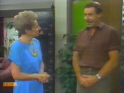 Eileen Clarke, Malcolm Clarke in Neighbours Episode 0653