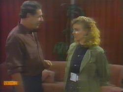 Malcolm Clarke, Sally Wells in Neighbours Episode 0653