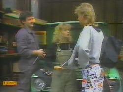 Tony Romeo, Charlene Robinson, Scott Robinson in Neighbours Episode 0653