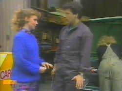 Sally Wells, Tony Romeo, Charlene Robinson in Neighbours Episode 0653