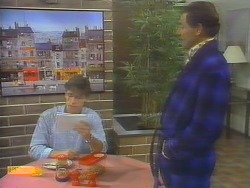 Mike Young, Malcolm Clarke in Neighbours Episode 0653