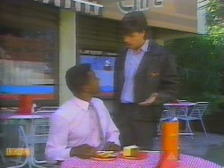 Pete Baxter, Mike Young in Neighbours Episode 0653