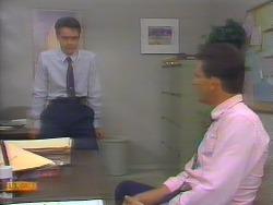 Paul Robinson, Des Clarke in Neighbours Episode 0653