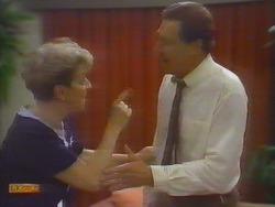 Eileen Clarke, Malcolm Clarke in Neighbours Episode 0654