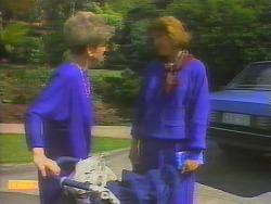 Eileen Clarke, Beverly Marshall in Neighbours Episode 0654
