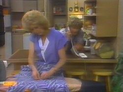 Madge Bishop, Henry Ramsay in Neighbours Episode 0655