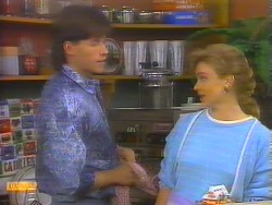 Mike Young, Sally Wells in Neighbours Episode 0655