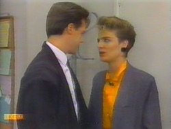 Paul Robinson, Gail Robinson in Neighbours Episode 0655