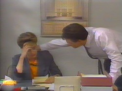 Gail Robinson, Paul Robinson in Neighbours Episode 0655