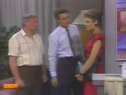 Rob Lewis, Paul Robinson, Gail Robinson in Neighbours Episode 0657