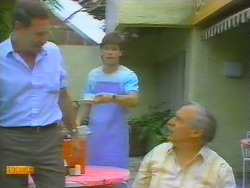 Malcolm Clarke, Mike Young, Rob Lewis in Neighbours Episode 0657