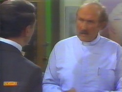 Malcolm Clarke, Reverend Sampson in Neighbours Episode 0657