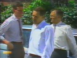 Des Clarke, Malcolm Clarke, Harold Bishop in Neighbours Episode 0658