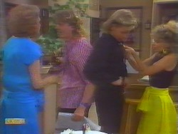 Madge Ramsay, Henry Ramsay, Scott Robinson, Charlene Robinson in Neighbours Episode 0658