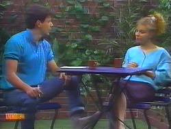 Tony Romeo, Sally Wells in Neighbours Episode 0658
