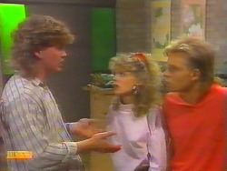 Henry Ramsay, Charlene Robinson, Scott Robinson in Neighbours Episode 0658