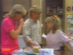 Scott Robinson, Henry Ramsay, Charlene Mitchell in Neighbours Episode 0659
