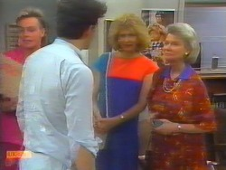 Scott Robinson, Tony Romeo, Madge Bishop, Helen Daniels in Neighbours Episode 0659