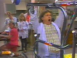 Scott Robinson, Sally Wells, Charlene Mitchell, Pete Baxter, Henry Ramsay in Neighbours Episode 0659