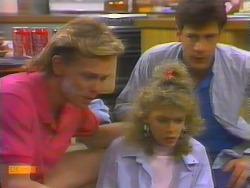 Scott Robinson, Charlene Mitchell, Tony Romeo in Neighbours Episode 0660