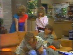 Madge Ramsay, Henry Ramsay, Charlene Robinson, Beverly Marshall in Neighbours Episode 0660