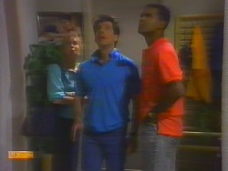 Sally Wells, Tony Romeo, Pete Baxter in Neighbours Episode 0660