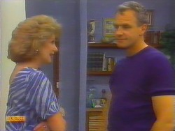 Madge Bishop, Jim Robinson in Neighbours Episode 0660