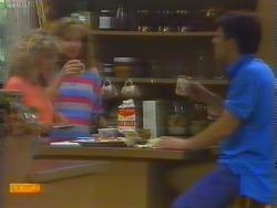 Charlene Mitchell, Sally Wells, Tony Romeo in Neighbours Episode 0660