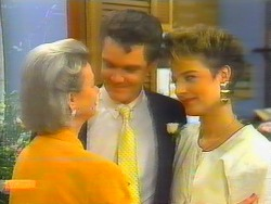 Helen Daniels, Paul Robinson, Gail Robinson in Neighbours Episode 0661