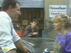 Mr. Griffiths, Tony Romeo, Charlene Mitchell in Neighbours Episode 0678