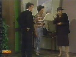 Paul Robinson, Gail Robinson, Eileen Clarke in Neighbours Episode 0679