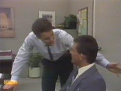 Paul Robinson, Des Clarke in Neighbours Episode 0679