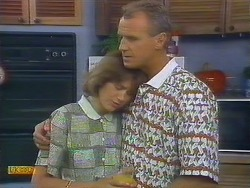 Beverly Marshall, Jim Robinson in Neighbours Episode 0681