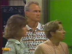 Beverly Marshall, Jim Robinson, Eileen Clarke in Neighbours Episode 0681