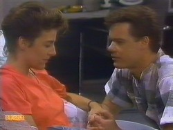 Gail Robinson, Paul Robinson in Neighbours Episode 0682