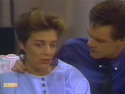 Gail Robinson, Paul Robinson in Neighbours Episode 0684