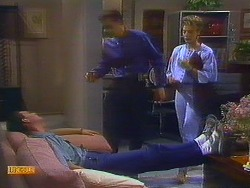 Des Clarke, Paul Robinson, Gail Robinson in Neighbours Episode 0685