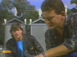 Mike Young, Des Clarke in Neighbours Episode 0691