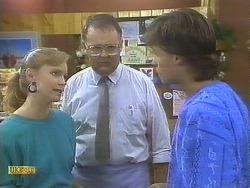 Sally Wells, Harold Bishop, Mike Young in Neighbours Episode 0691